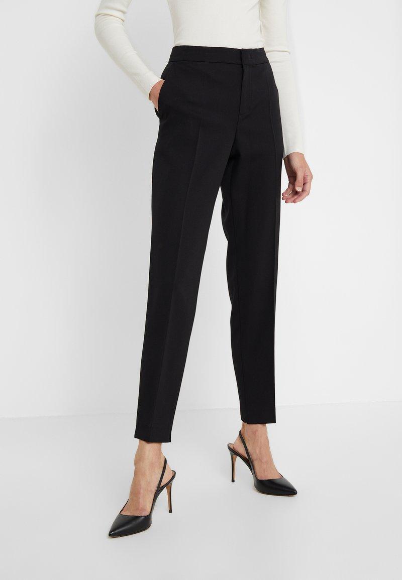 Strenesse - PANTS - Spodnie materiałowe - black