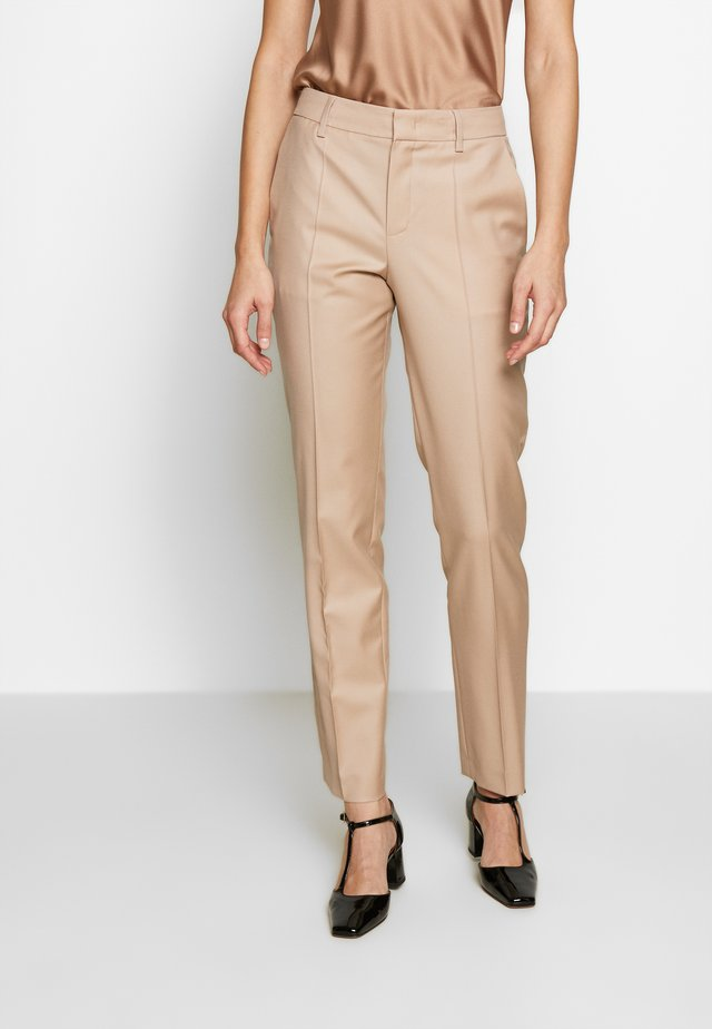TROUSER - Trousers - camel