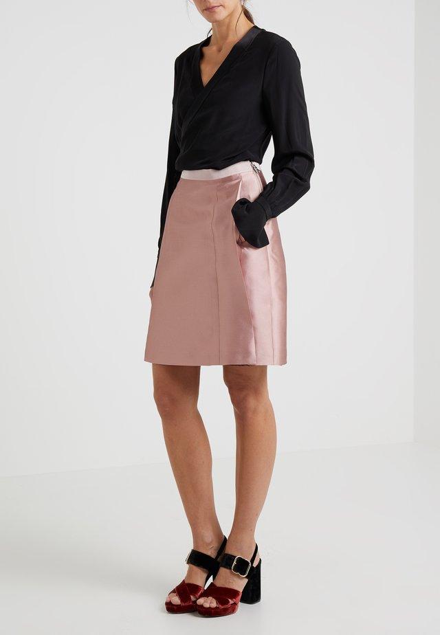 SKIRT SILAR - A-line skirt - rose