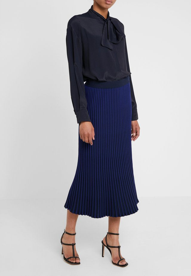 SKIRT - Maxirock - navy/blue