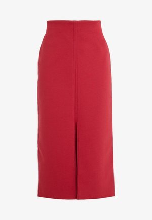 SKIRT SEVERINE - Gonna a tubino - rouge/eggshell