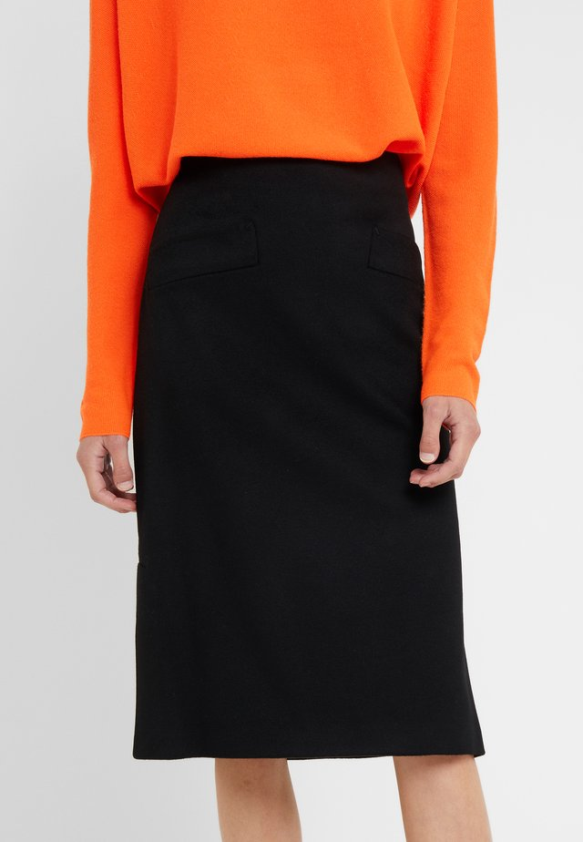 SKIRT SARILLA - A-line skirt - black