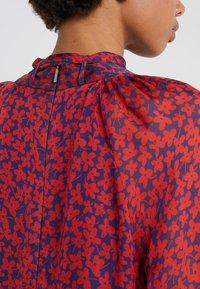 Strenesse - DRESS DIAMONDE - Vestito lungo - navy/red - 5