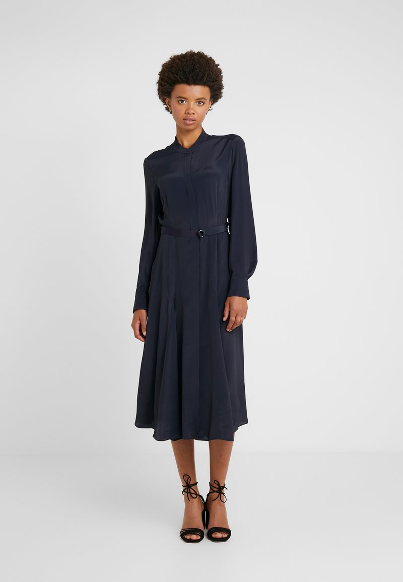 Strenesse - DRESS DEAUVILLE - Skjortekjole - navy