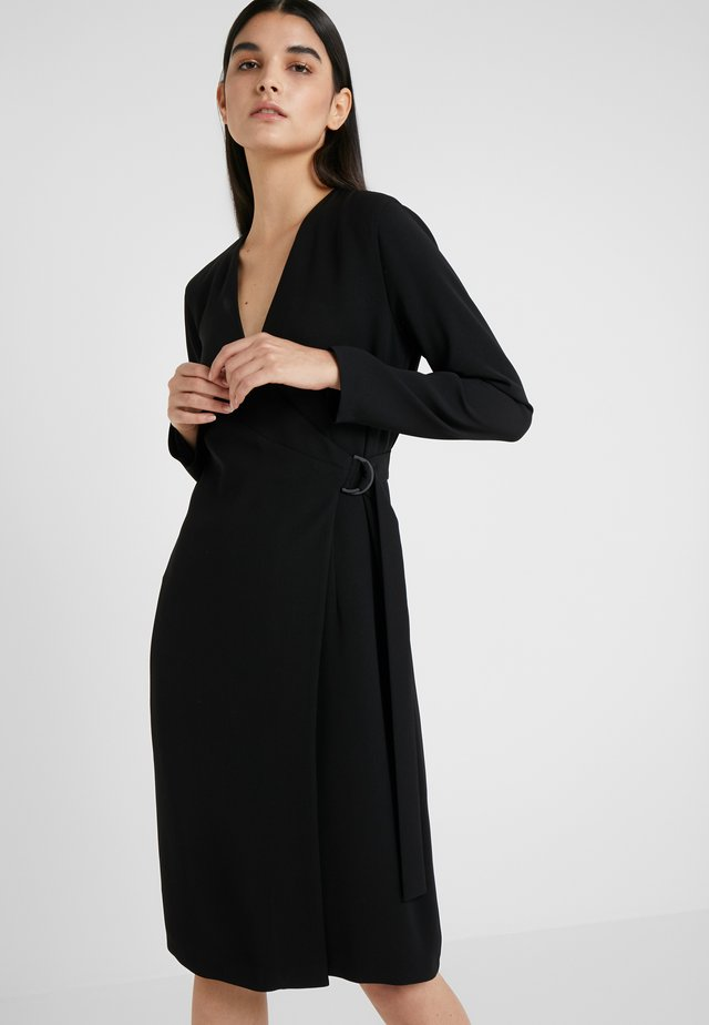 DRESS - Etuikleid - black
