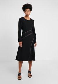 Strenesse - DRESS - Vestito estivo - black - 0