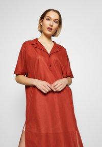 Strenesse - DRESS DALENA - Denní šaty - umber - 3