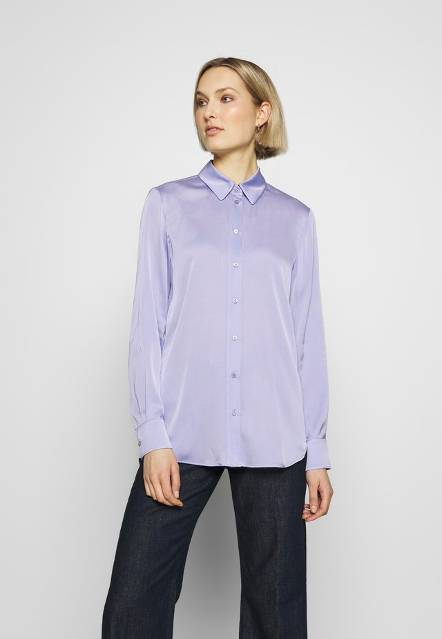 BLOUSE - Button-down blouse - lilac