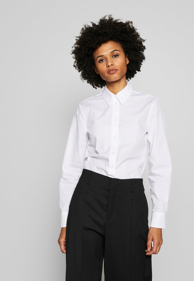 BLOUSE - Overhemdblouse - optic white