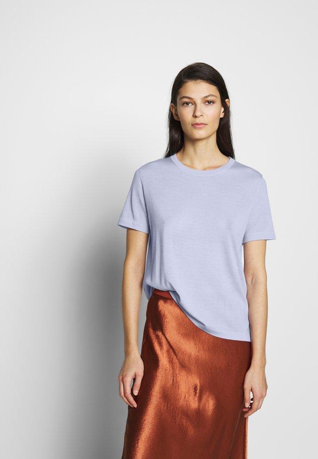 Jednoduché triko - lilac