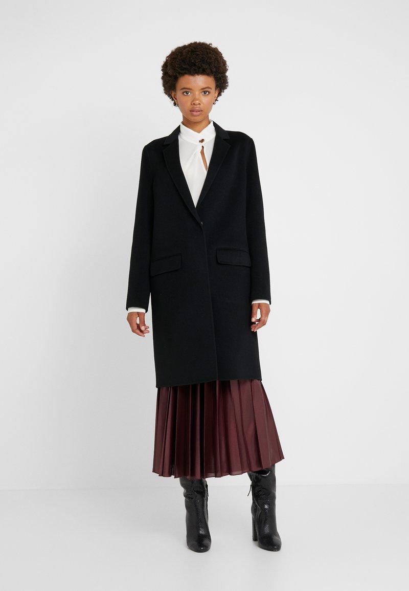 Strenesse - DOUBLE FACE COAT - Wollmantel/klassischer Mantel - black