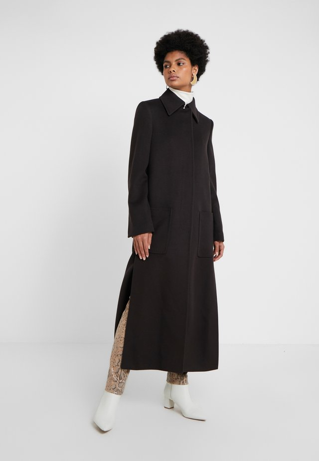 COAT COLETTE - Mantel - dark brown