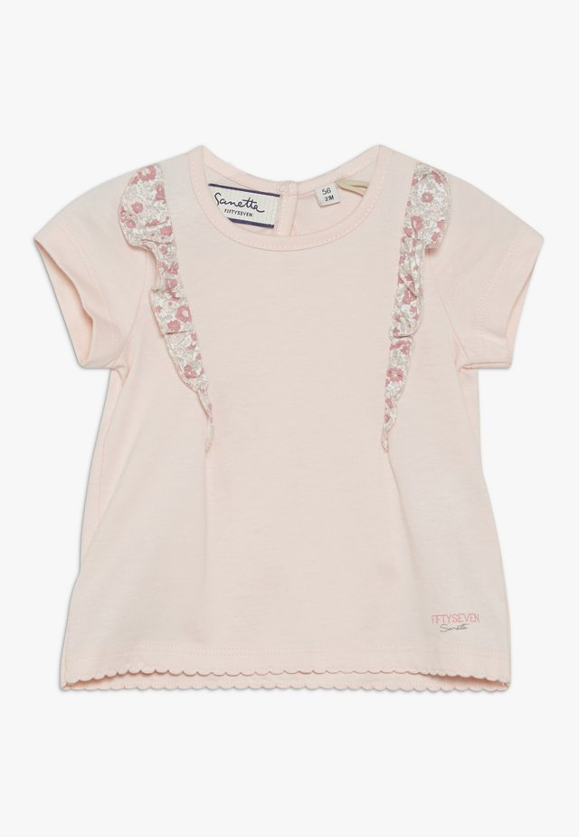 BABY - T-shirt med print - seashell rose