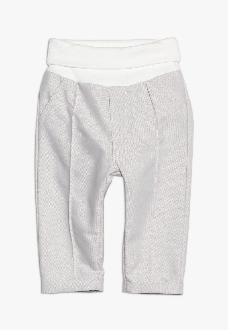 Sanetta fiftyseven - PANTS LINED - Pantalon classique - summer white