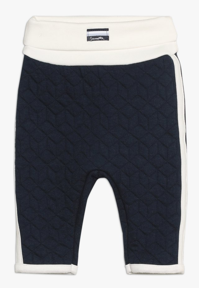 PANTS - Tygbyxor - deep blue