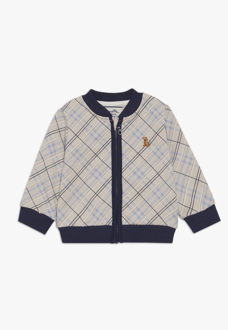 Sanetta fiftyseven - JACKET BABY - Zip-up hoodie - grey