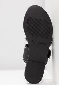 Sol Sana - FOSTER SLIDE - Mules - black - 6