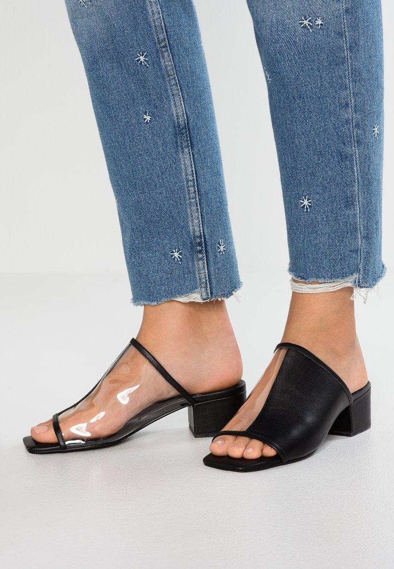Sol Sana - INVERSE MULE - Pantolette hoch - black