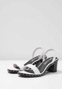 Sol Sana - NADIA HEEL - Sandals - white - 4