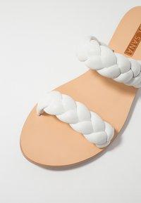 Sol Sana - VERA SLIDE - Mules - white - 2