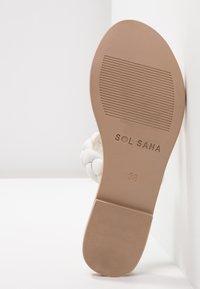 Sol Sana - VERA SLIDE - Mules - white - 6