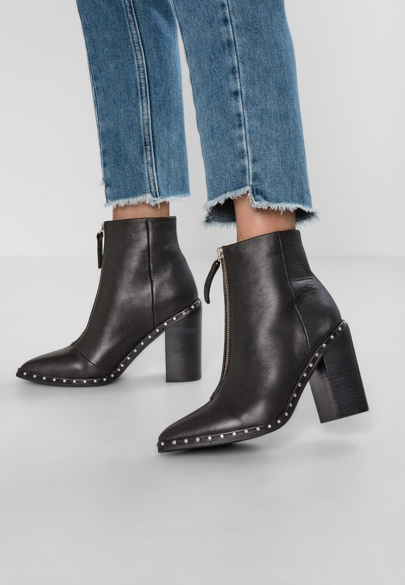 Sol Sana - AXEL BOOT - High heeled ankle boots - black