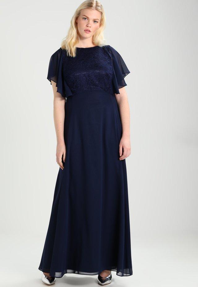 FLUTE SLEEVE MAXI DRESS - Festklänning - navy