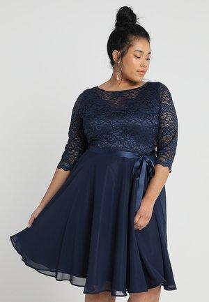 Koktejlové šaty/ šaty na párty - navy