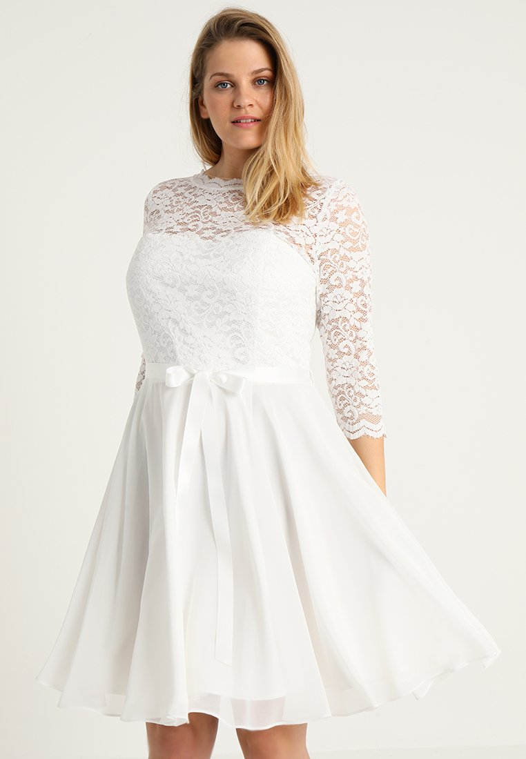 Swing Curve - Robe de cocktail - ivory