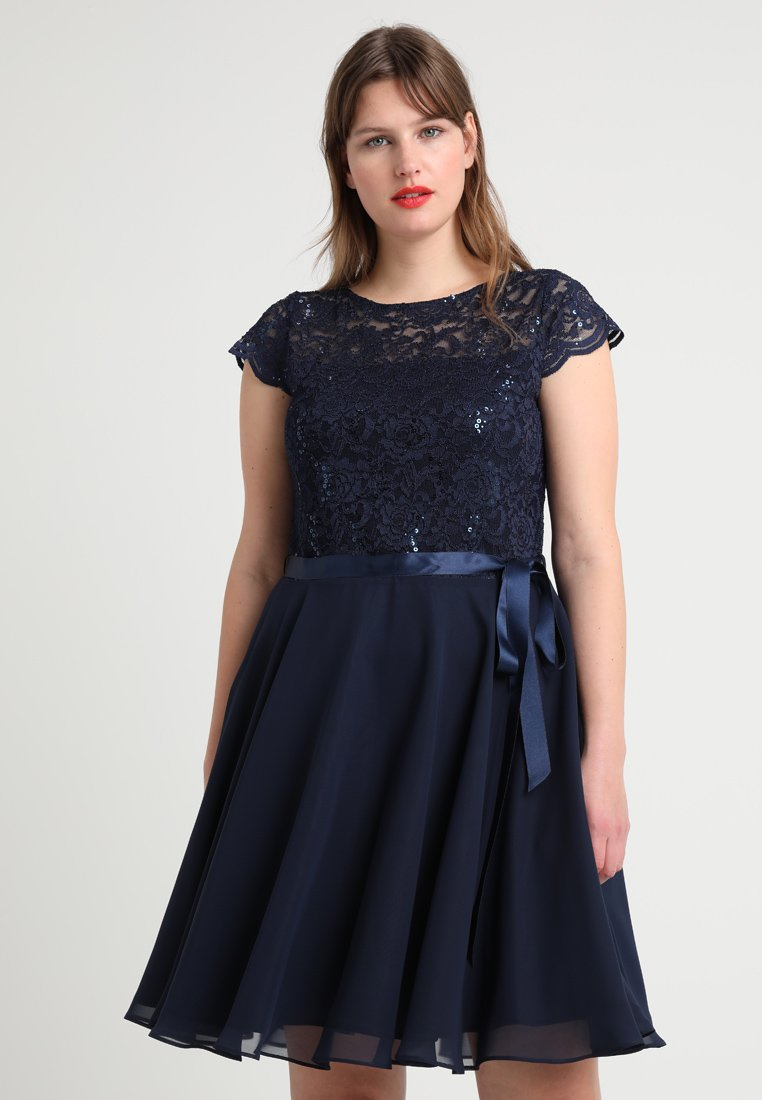 Swing Curve - Koktejlové šaty/ šaty na párty - ink