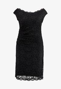 Swing Curve - EXCLUSIVE SWING BARDOT BODYCON DRESS - Koktejlové šaty/ šaty na párty - black - 5