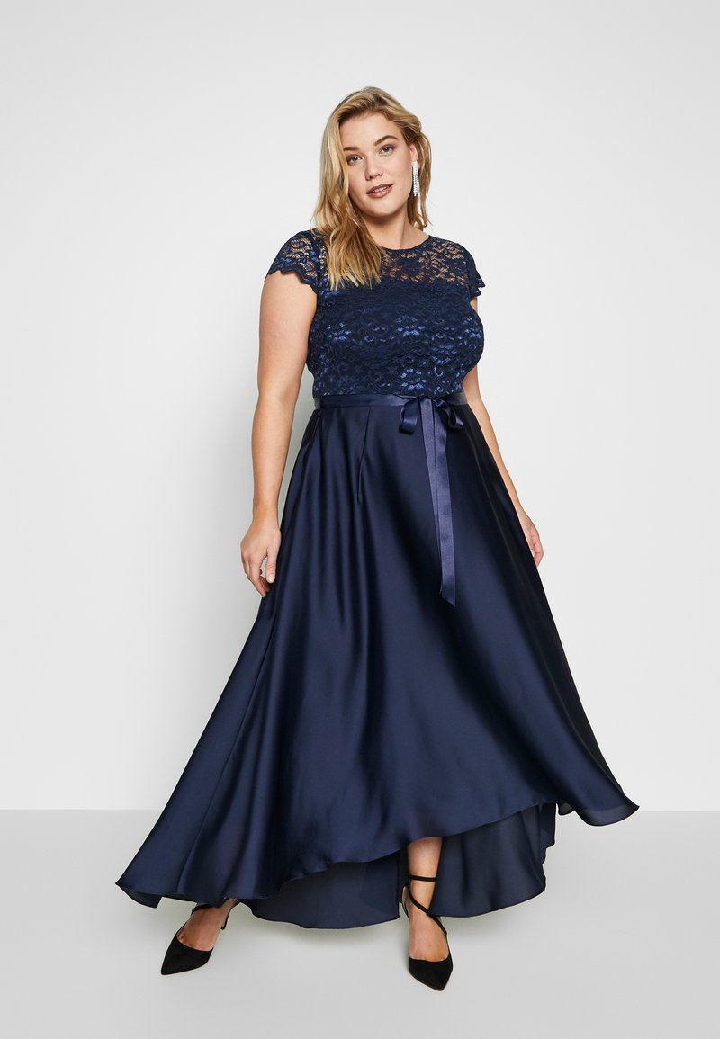 Swing Curve - EXCLUSIVE DRESS - Festklänning - marine