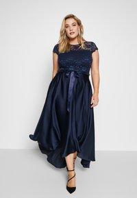Swing Curve - EXCLUSIVE DRESS - Festklänning - marine - 1