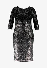 Swing Curve - Cocktail dress / Party dress - silber/schwarz - 5