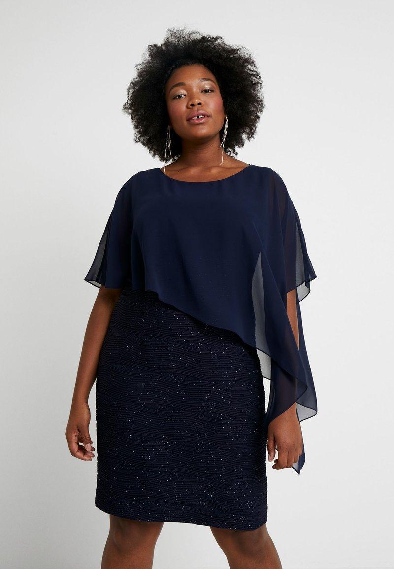 Swing Curve - Koktejlové šaty/ šaty na párty - blau