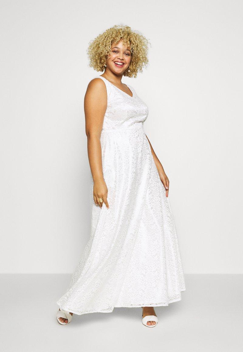 Swing Curve - BRIDAL DRESS - Vestido de fiesta - cremeweiss