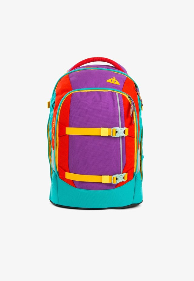 Schooltas - color block lila