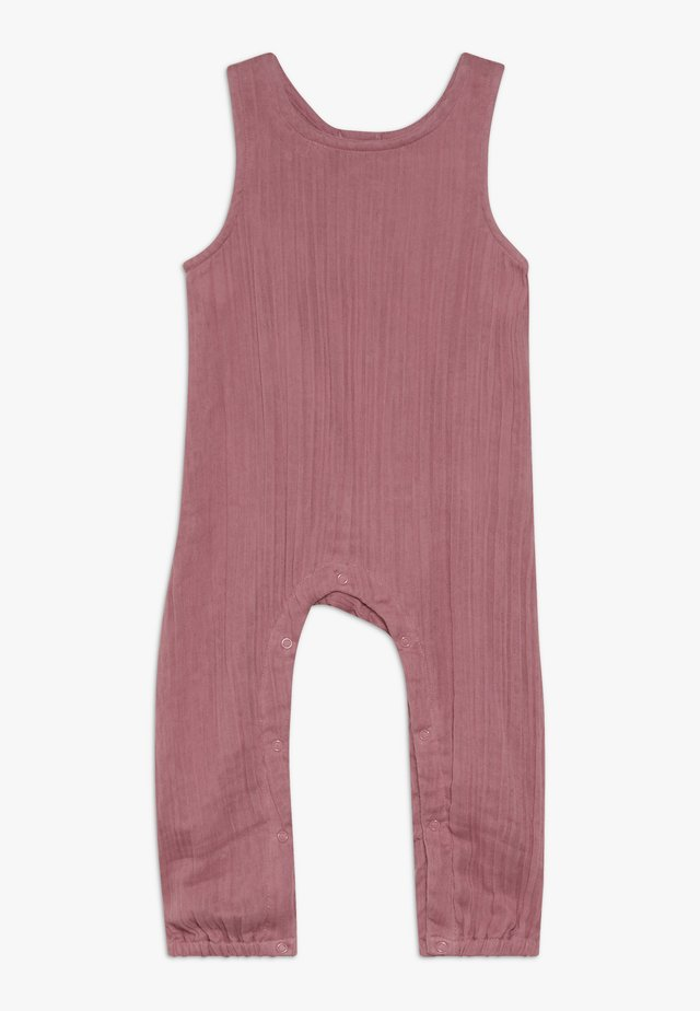 SILVA ROMPER SLEEVELESS BABY - Haalari - old rose
