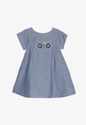 GRETA DRESS - Denní šaty - blue