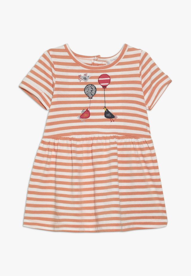 AMEA BABY DRESS - Jerseykjole - coral