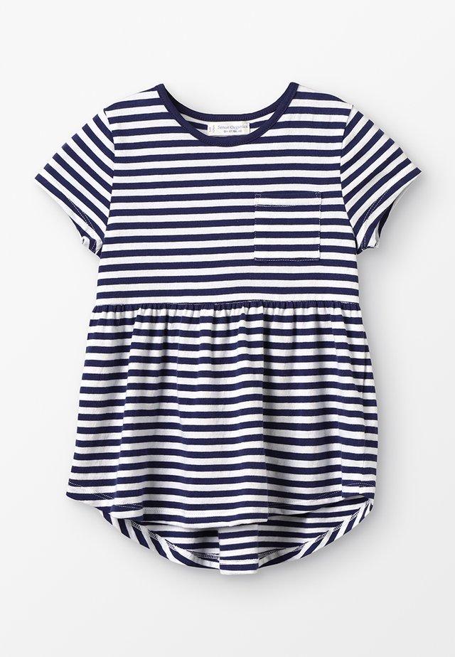 ELEA TUNIC  - T-shirt print - navy