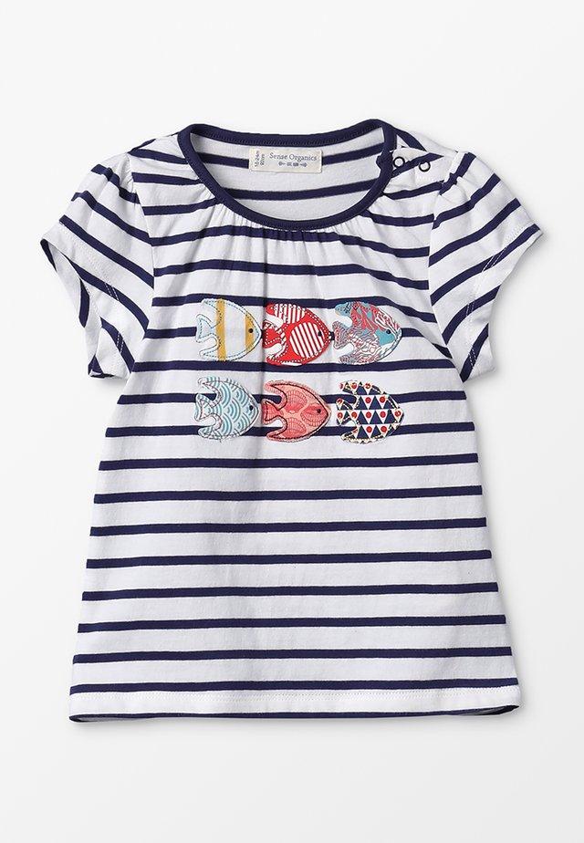 GADA  - T-shirt print - navy