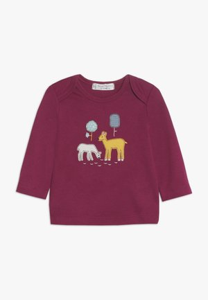 TIMBER RETRO BABY - T-shirt à manches longues - beet red