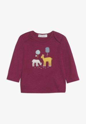 TIMBER RETRO BABY - Maglietta a manica lunga - beet red