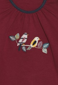 Sense Organics - MINA - Långärmad tröja - beet red - 3