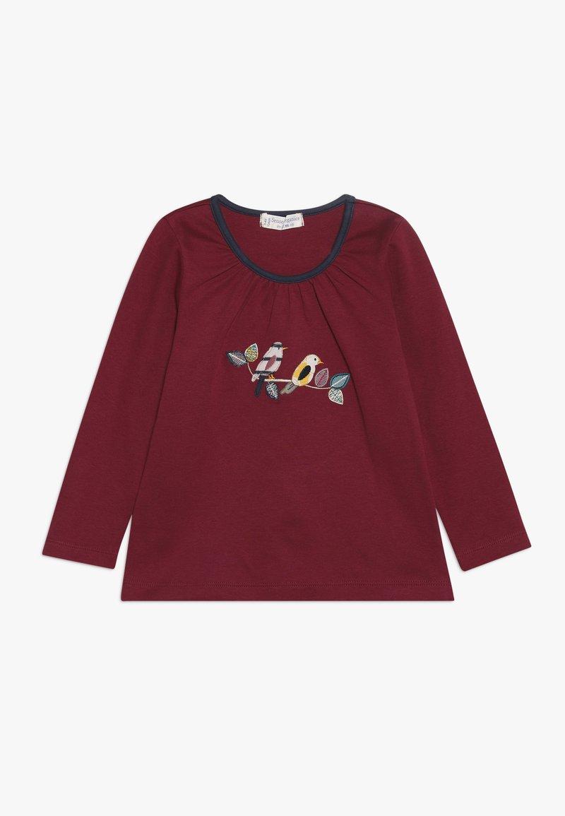 Sense Organics - MINA - Långärmad tröja - beet red