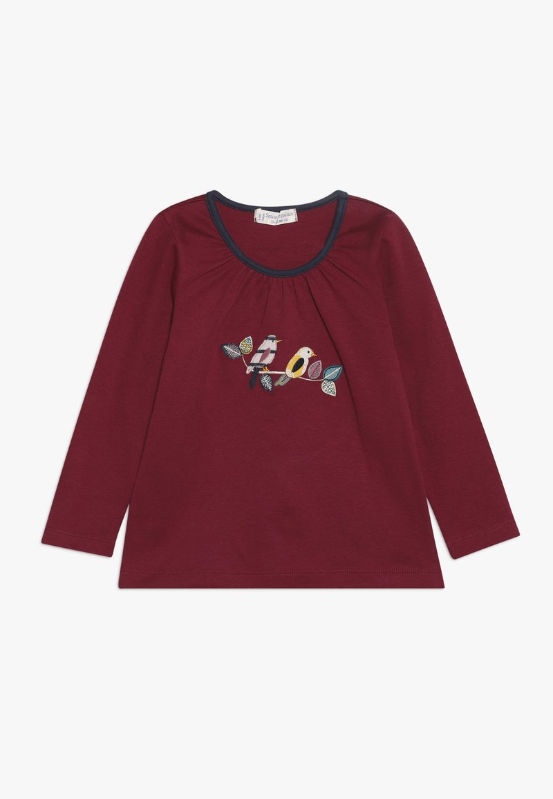 Sense Organics - MINA - Langærmede T-shirts - beet red