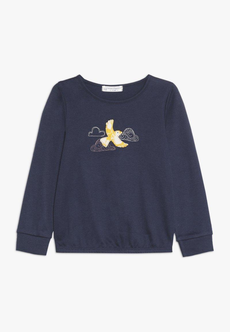 Sense Organics - AWINITA - T-shirt à manches longues - navy