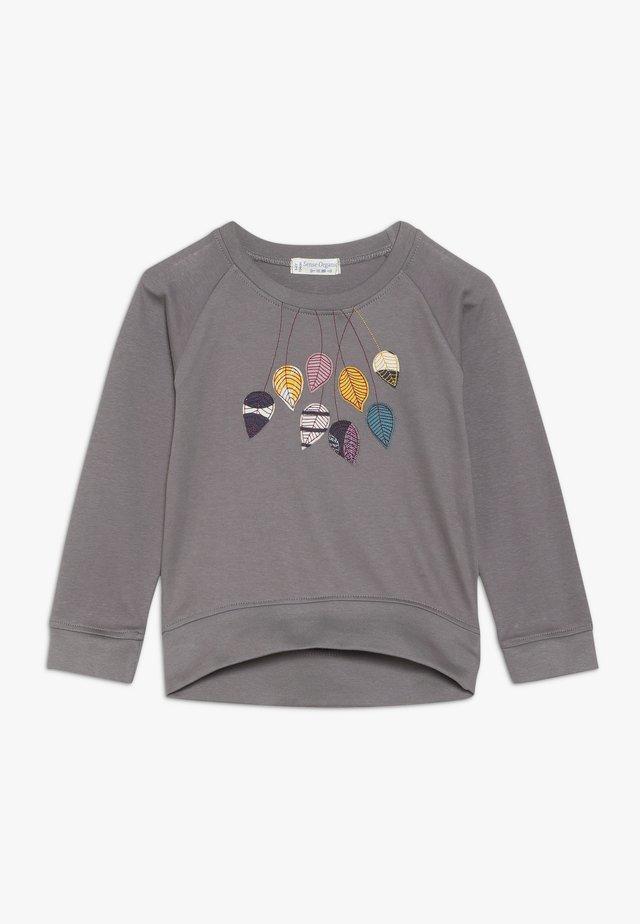 DENA RAGLAN - Långärmad tröja - dark grey