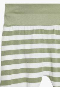 Sense Organics - JORS BABY PANT - Spodnie treningowe - olive - 3